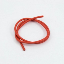 Cable silicone rouge 16 AWG...