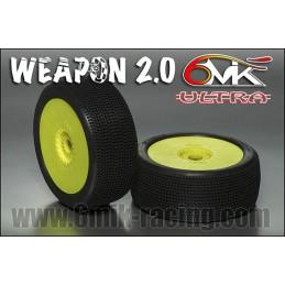 PNEUS 1/8 WEAPON 2.0 JANTES...